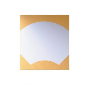 金扇面中画仙
